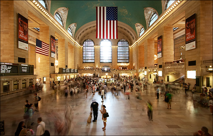 Grand central is full of people looking for ways to deal with failure