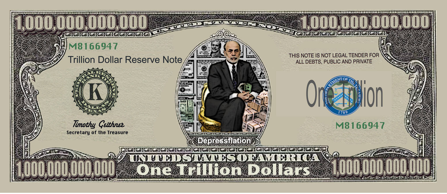 What does a trillion dollar bill look like 10