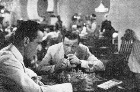 Bogart In Casablanca Couldn't Focus On His Game Even Though He Was A Chess Addict