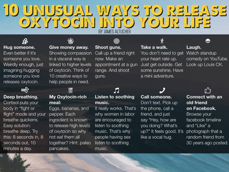10 Unusual Ways To Release Oxytocin Into Your Life