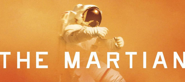 Andy Weir The Martian Book Cover