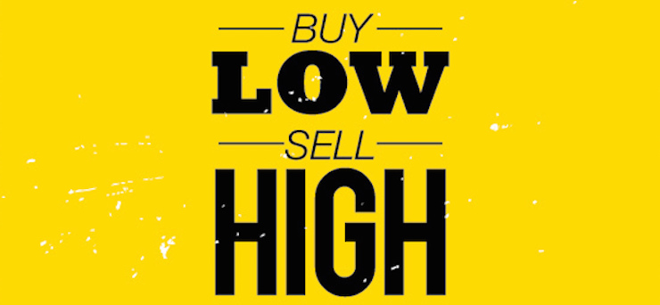 Learn How To Buy Low And Sell High from James Altucher