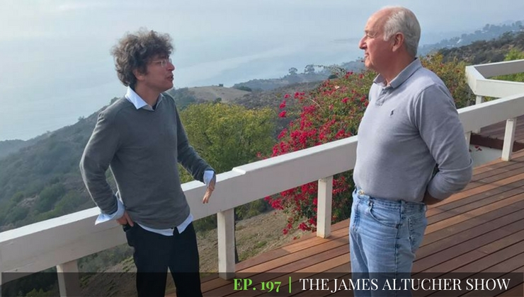 James Altucher discusses going from amateur to pro with Steven Pressfield