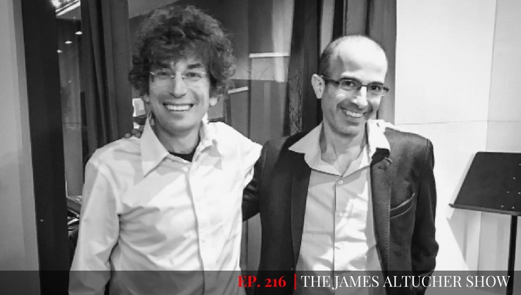 Yuval Noah Harari Talks about The Next Step In Our Evolution at The James Altucher Show