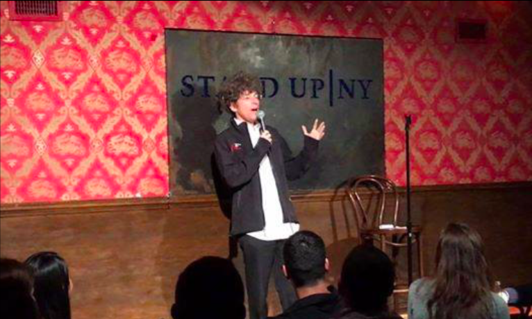 I bombed at performing stand-up comedy